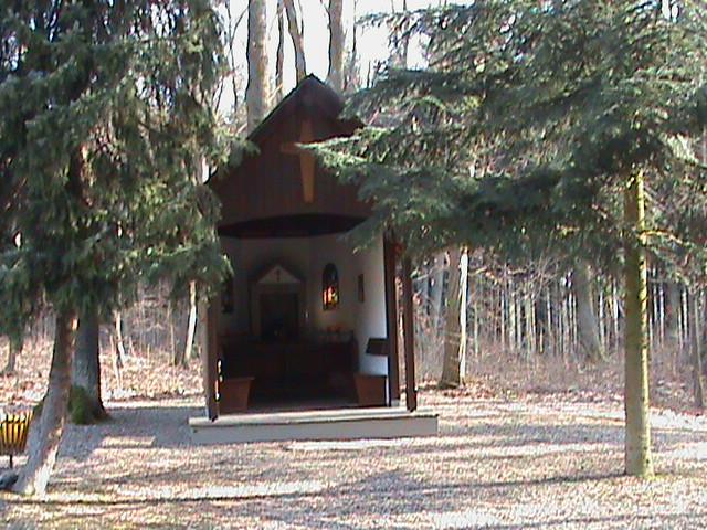 Besuchen wir immer das schöne Heiligenhäuschen bei Bad Bodendorf