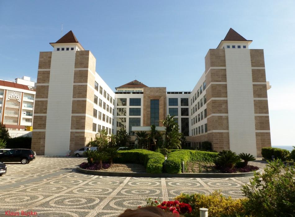 Unser Hotel Horus Paradise  in Side Kumköy