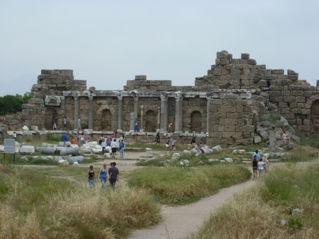 Theater Ruinen in Perge