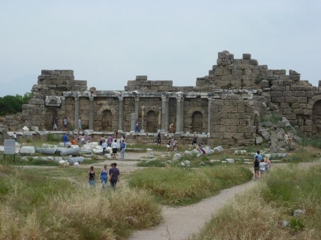 Theater Ruinen in Perge
