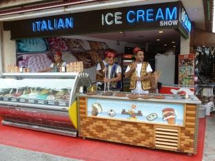 Italenische Eisverkäufer
