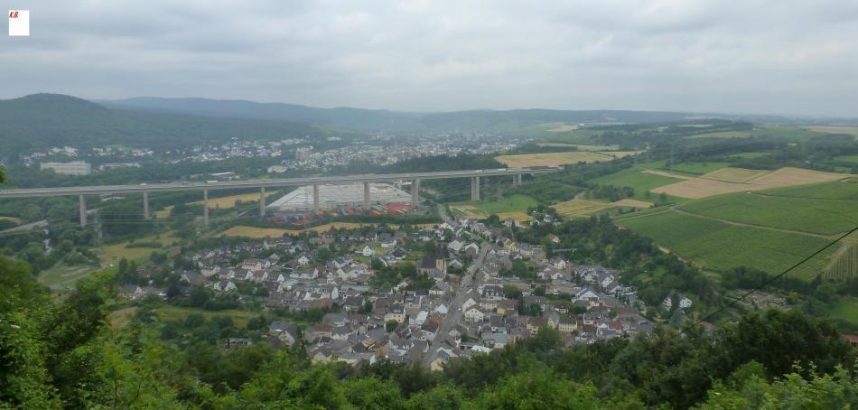 Ahrtalbrücke und Lohrsdorf