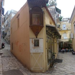 Ein schmales Haus