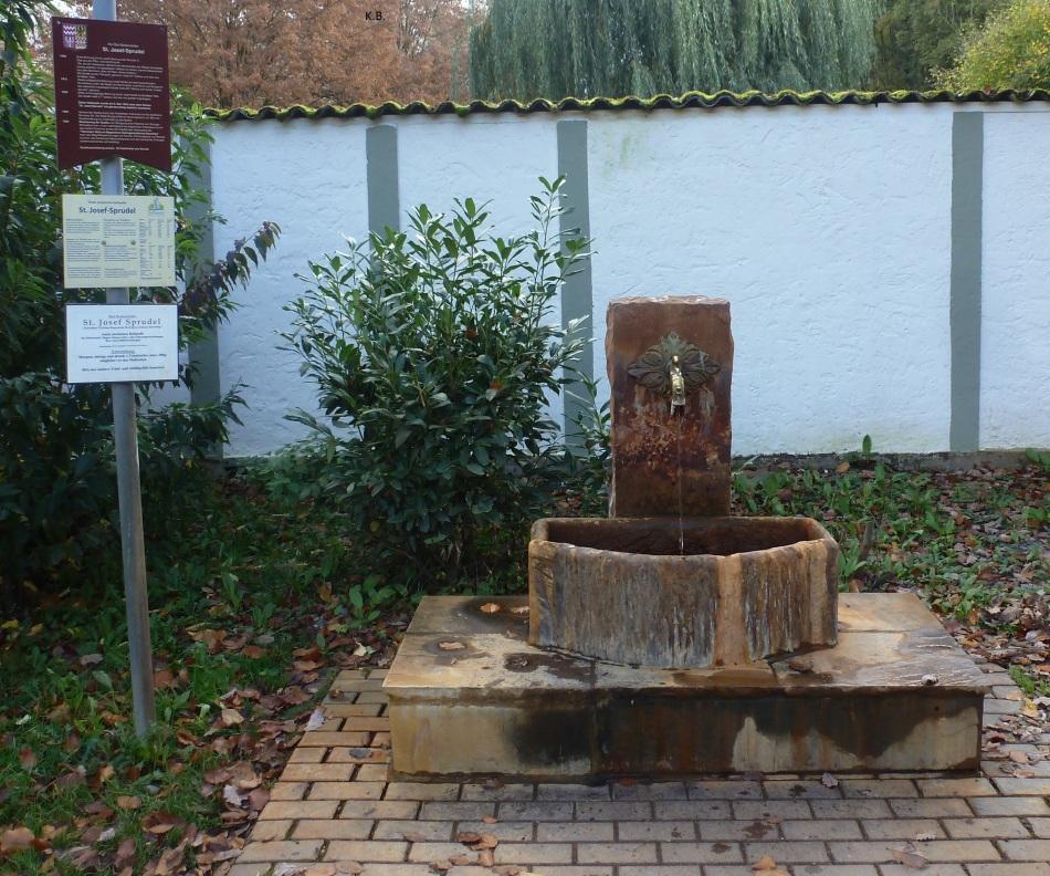 St.Josef Quelle in Bad Bodendorf