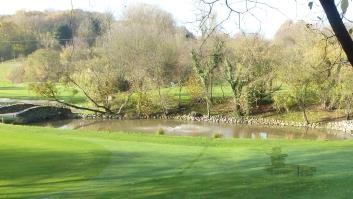 Der See am Golfplatz