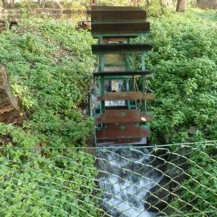 Wasserrad am Schwanensee
