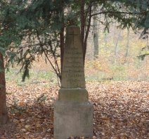 Grabstein vom erschossenen Jäger
