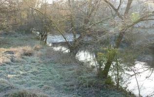 Frost an der Ahr