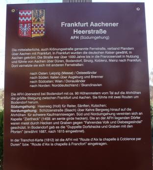 Frankfurter Aachener Heerstrasse