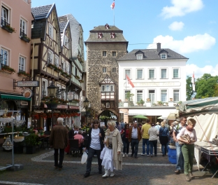 Linz Altstadt mit Trödelmarkt