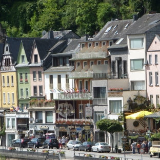 Moselufer in Cochem