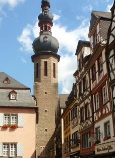 Turm in der Altstadt von Cochem