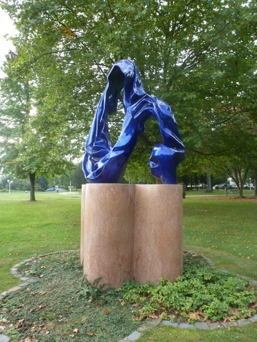 Skulptur im Kurpark von Bad Breisig
