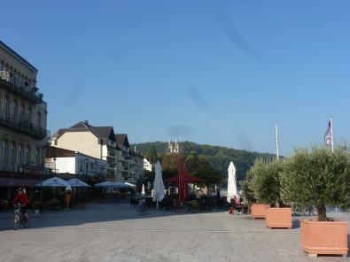 Remagene Rheinpromenade