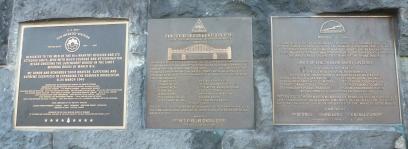 Gedenktafel von den Amerikanischen US Soldaten
