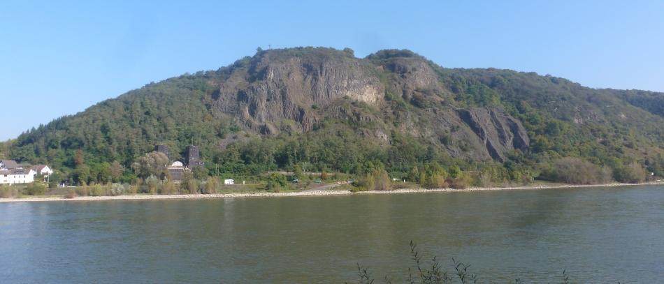 Andere Rheinseite in Erpel