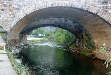 Die Steinbrücke in Altenahr