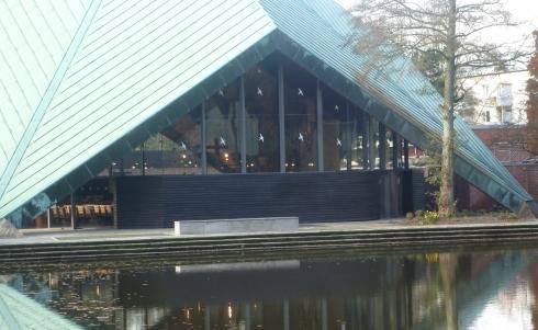 Die Zeltkirche am kleinen Nebensee
