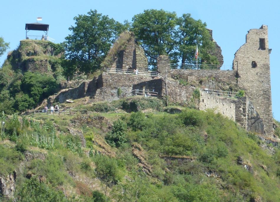 Die Burg bei Altenahr