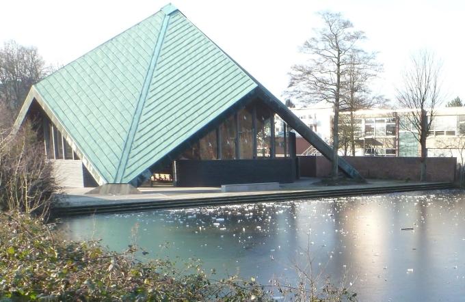 Die Zeltkirche an der Saaler Mühle
