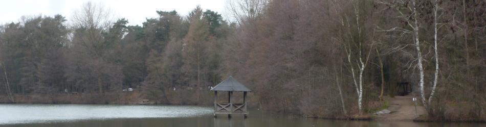 Der See an der Saaler Mühle