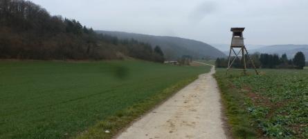 Wanderweg zur Golfanlage Ahrweiler -Neuenahr