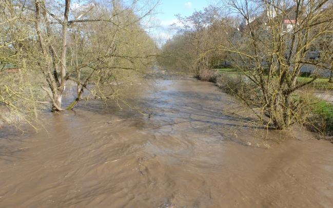 Überschwemmung an der Ahr