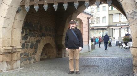 Linzer Burgtor und ich