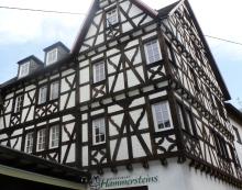 Fachwerkhaus vom Restaurant Hammersstein