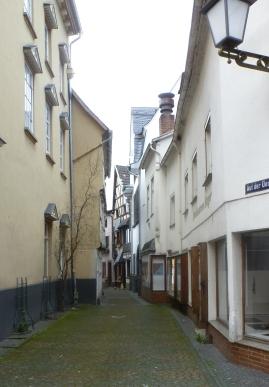 In Linz kleine Seitengasse