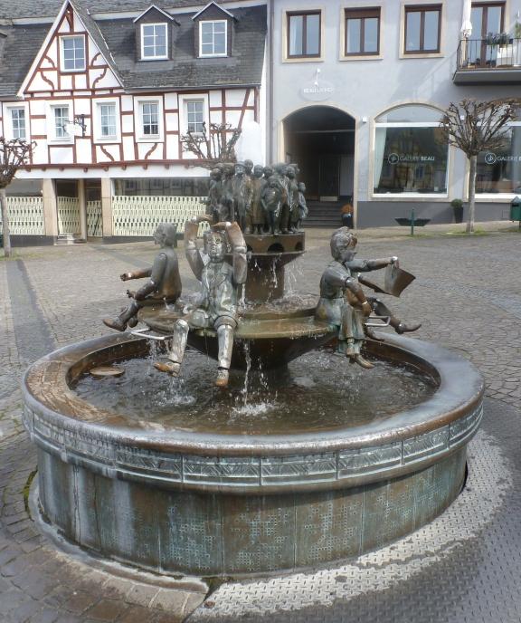 Der Brunnen in Linz