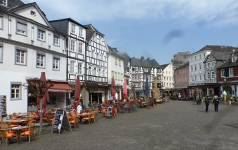 Der Marktplatz in Linz