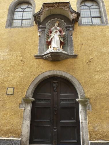Erbaut 1639 als Klosterkirche umgebaut 1993 zur Stadthalle