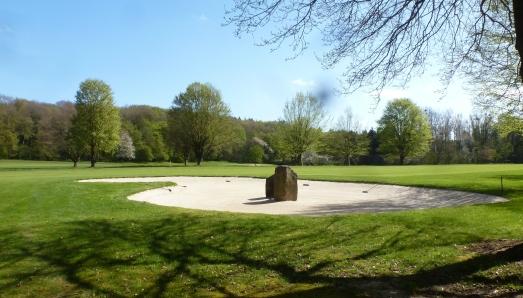 Teil der Golfplatzanlage