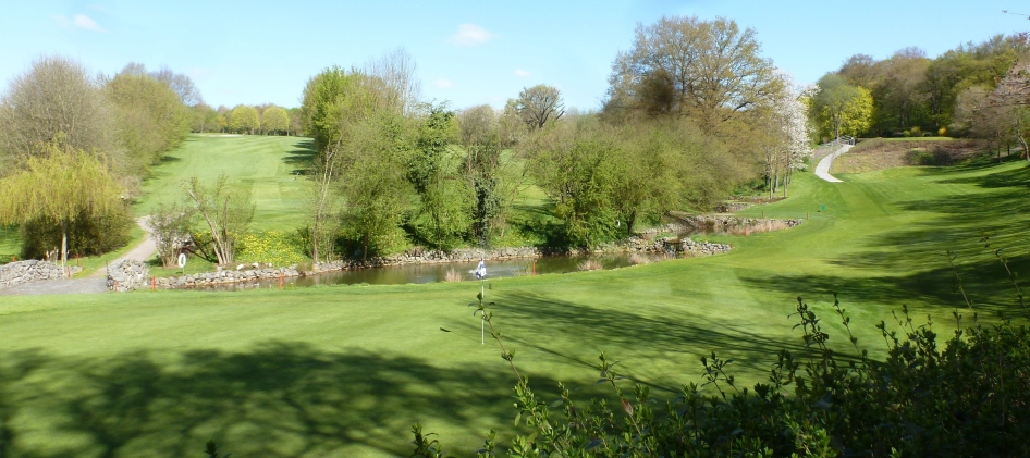Golfanlage von Bad Neuenahr -Ahrweiler