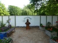 Der neu gestaltete Thermalbrunnen vom St Josef Sprudel
