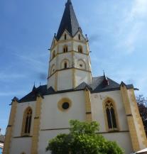 die Kirche in Ahrweiler