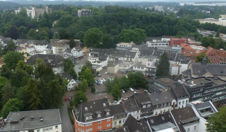 Aussicht vom Krankenhaus vom 7 Stock