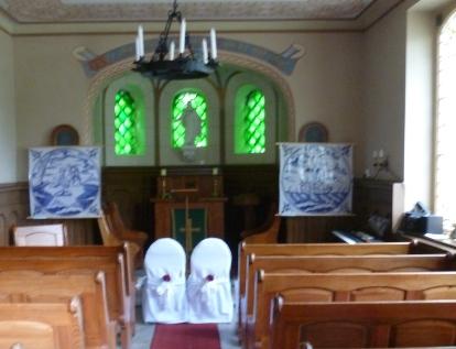 Kapelle am Hotel für Hochzeiten wie praktisch
